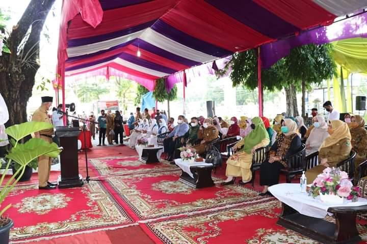 Buka Bazar Ramadhan, Gubernur Mahyeldi Minta Patuhi Prokes Covid-19