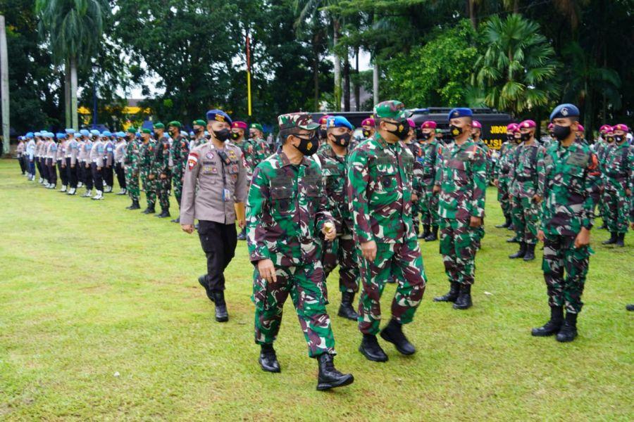 Danrem 032/Wbr Hadiri Apel Gelar Pasukan Ops Ketupat Singgalang 2021