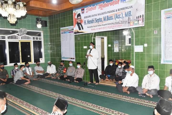 Hendri Septa: Disiplin Terapkan Prokes, Harapan Pesantren Ramadhan Berjalan Lancar