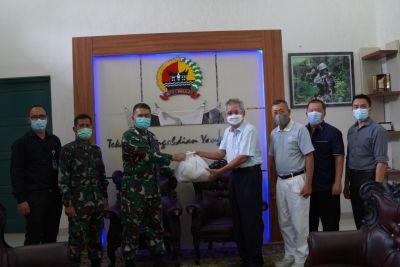 Yayasan Budha Tsu Chi Wilayah Padang Laksanakan Kunjungan Silaturrahmi ke Korem 032/Wbr